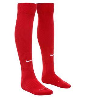 Nike Chaussettes De Football Rouge Classique
