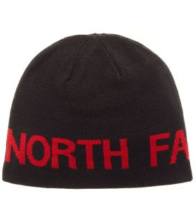 The North Face Gorro Reversible Banner Negro Rojo