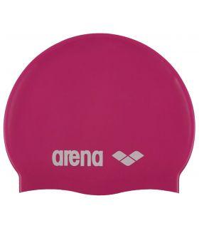 Arena Gorro Classic Silicona Junior Fucsia