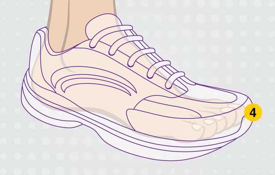 Largura zapatillas running