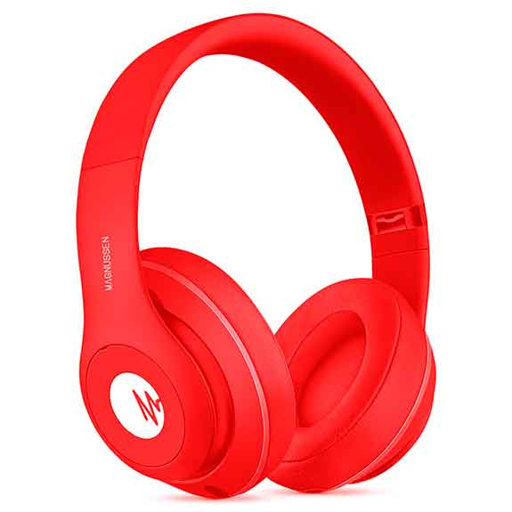 Magnussen Auriculares H1 Red Gloss bluetooth