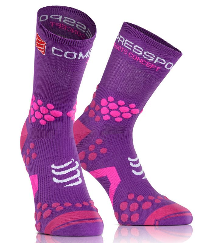Compressport Proracing Socks 2.1 Trail Pulple