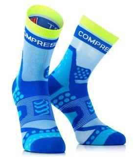 Compressport ProRacing Socks 12G Exécuter Ultralight Bleu