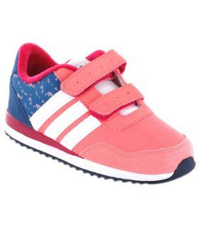 Adidas V Jog CMF Inf Rosa