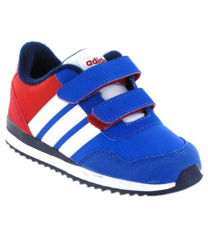 Adidas V Jog CMF Inf Azul