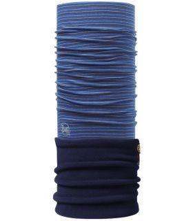 Buff Yarn Dyed Stripes Polar Buff Dome Navy