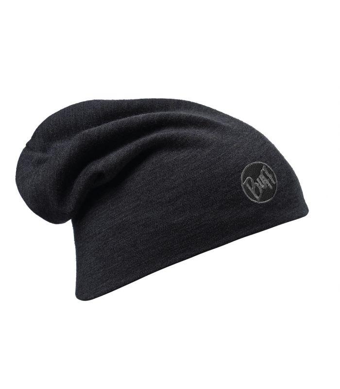 Buff Heavy Merino Wool Hat Buff Negro