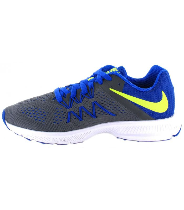 Zapatillas Running Hombre - Nike Zoom Winflo 3 Gris gris Zapatillas Running