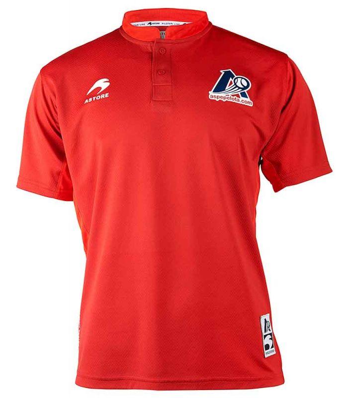 'astore T-Shirt Abain d'Aspe Rouge