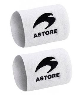 Astore Doppel-Schweißband Weiß