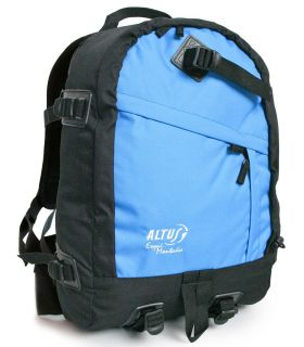 Altus Skiing Mountain Black Light Blue