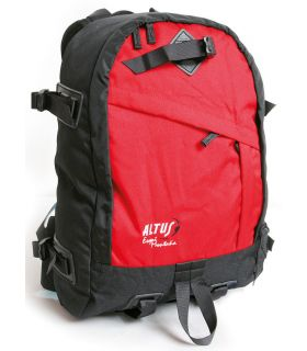 Altus Skiing Mountain Black Red