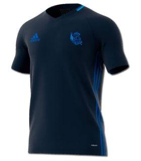 Adidas Camiseta Entrenamiento niño Real Sociedad 2016/2017