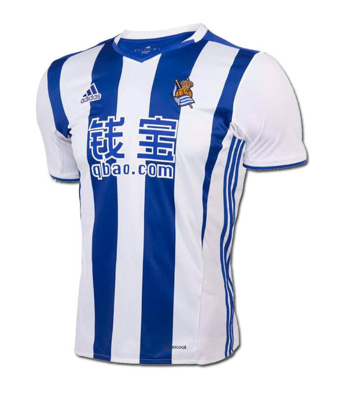 T-Shirt Adidas Real Sociedad Officiel 2016/17