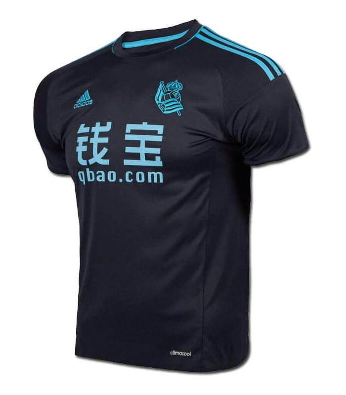 Camiseta Adidas Real Sociedad Oficial 2 2016/17