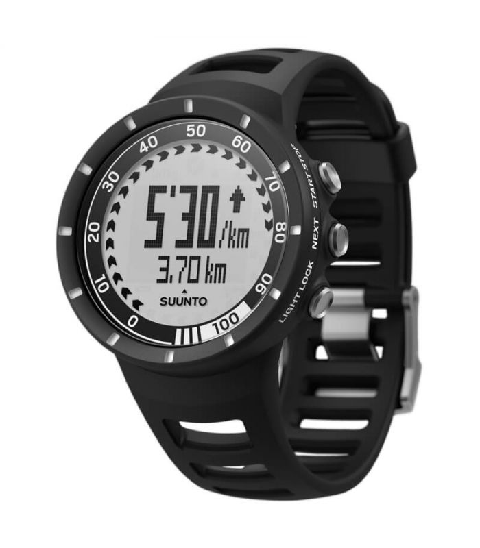 Pulsometros - Suunto Quest Speed Pack Black + Dual Belt regalo Electronica Running