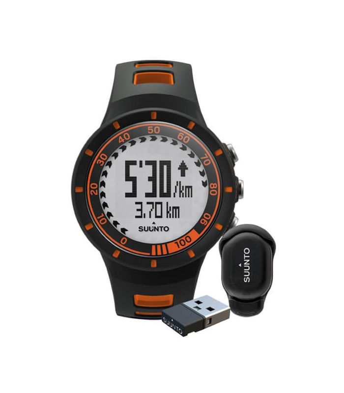 Moniteur De Fréquence Cardiaque Suunto Quest Speed Pack Orange