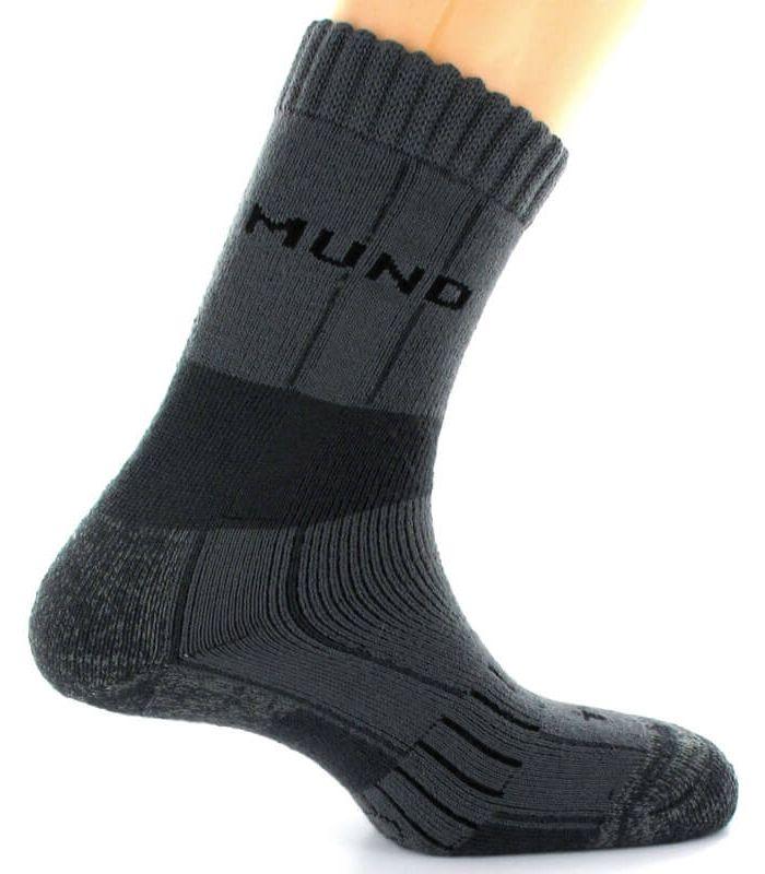 Calcetin Mund Himalaya Mund Socks Calcetines Montaña Calzado Montaña Tallas: 31 / 35; Color: gris