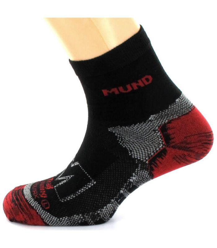 Calcetin Mund Trail Running Mund Socks Calcetines Trail Running Zapatillas Trail Running Tallas: 46 / 49; Color: negro