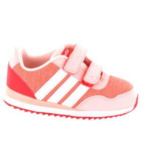 Adidas V Jog CMF Inf Rosa 2