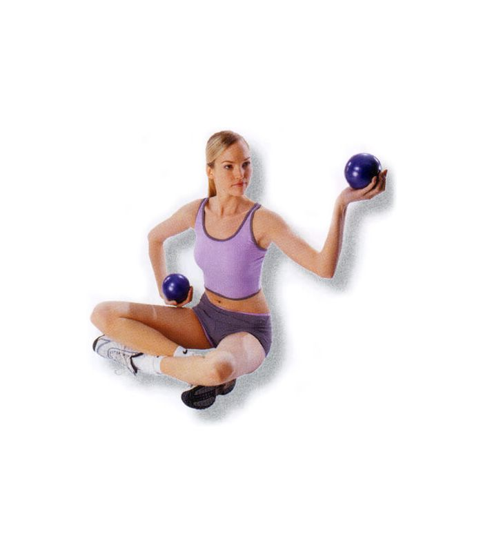 Pesas - Tobilleras Lastradas - Pelotas fitness lastradas 2 x 1 kg Fitness