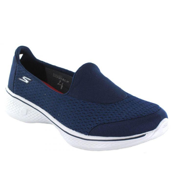 Skechers Go Walk 4 Poursuite Bleu
