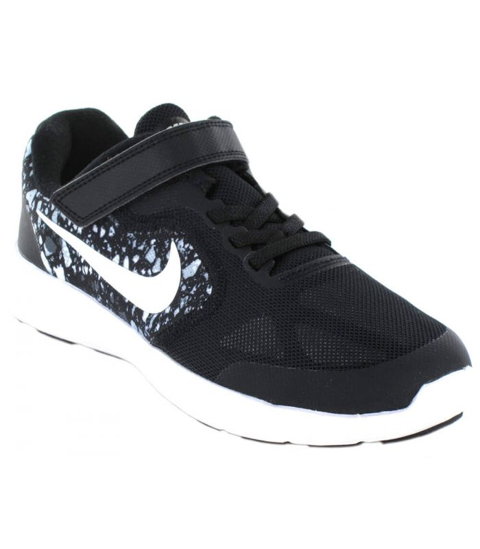 Nike Revolution 3 Imprimer PSV Noir
