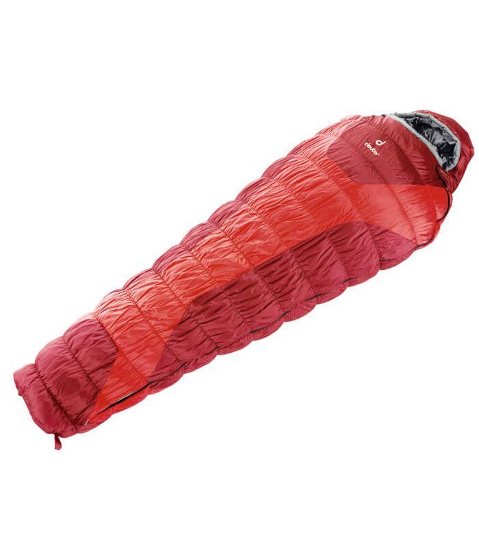 Saco de dormir Deuter Exospere -4 Deuter Sacos de dormir de Fibra Sacos de dormir y Fundas Cremallera: derecha