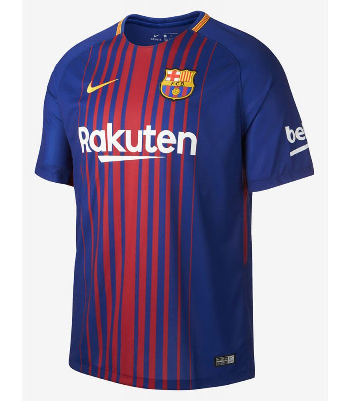 Nike camiseta de fútbol 2017/18 FC Barcelona Home Youth Nike Equipaciones Oficiales Fútbol Fútbol Tallas: s, m, xl, l;