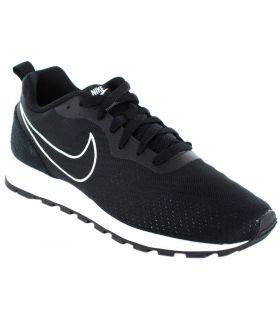 Nike Nike MD Runner 2 Eng - Calzado Casual Hombre - Nike negro 44, 44,5, 45,5