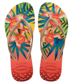 Havaianas Slim Tropical Yellow