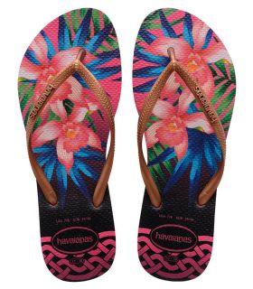 Havaianas Slim Tropical Fuchsia