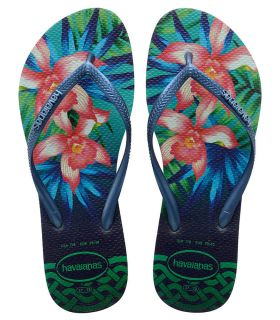 Havaianas Slim Tropical Green