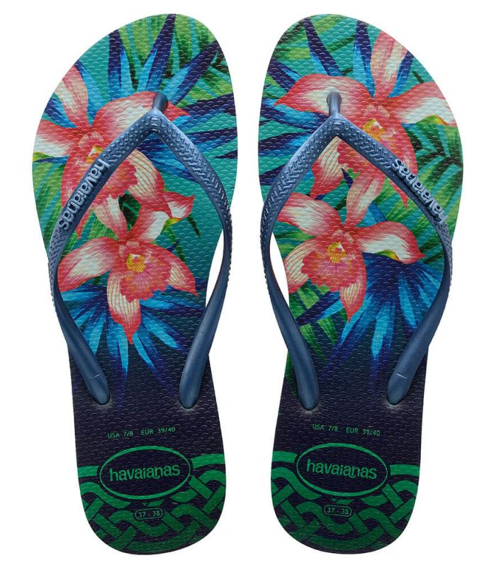 Havaianas Slim Vert Tropical