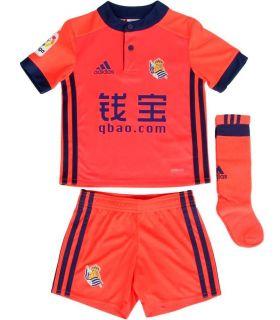 Adidas Real Sociedad Kit Segunda 2017/2018 Equipaciones