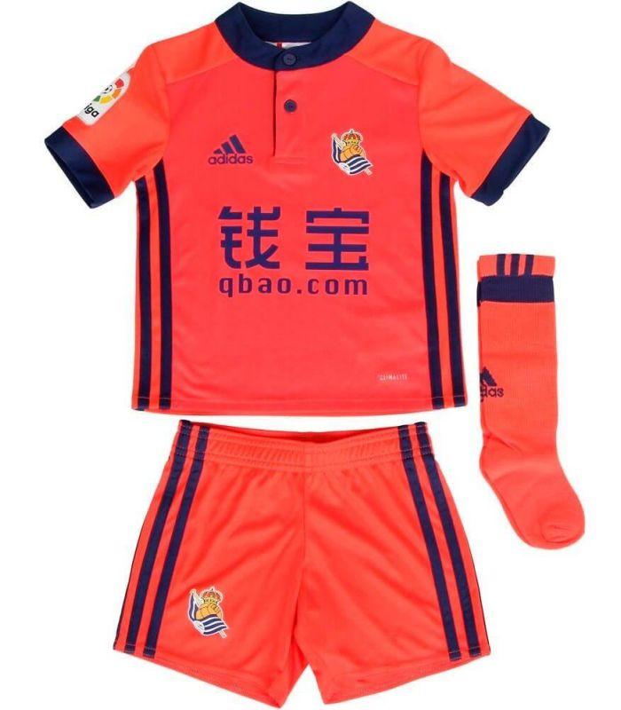 Adidas Real Sociedad Kit Segunda 2017/2018 - Jerseys Official