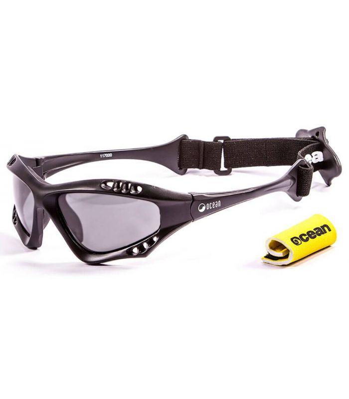 Ocean Australia Matte Black / Smoke - Gafas de sol Running - Ocean Sunglasses negro