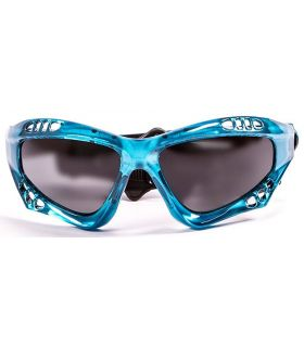 Ocean Australia Shiny Blue / Smoke - Sunglasses Running