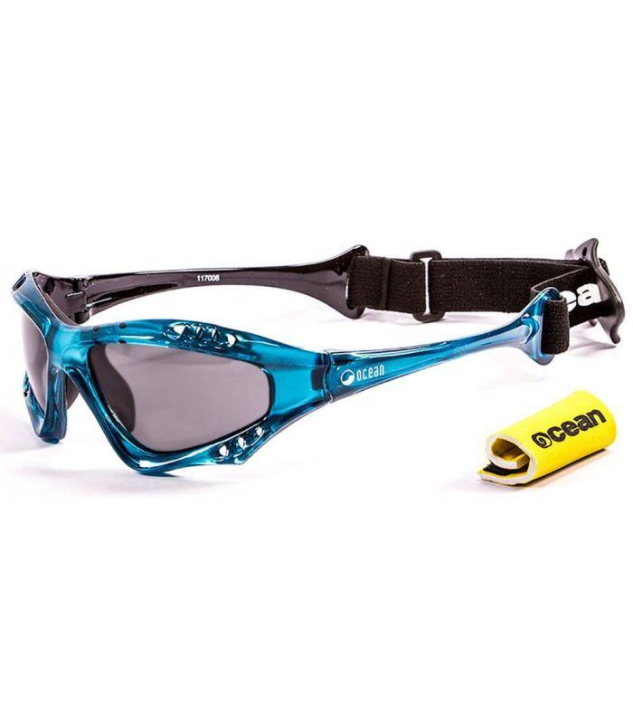 Ocean Australia Shiny Blue / Smoke - Gafas de sol Running - Ocean Sunglasses azul