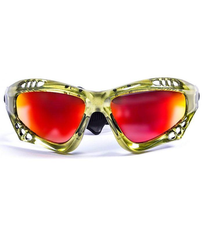 Ocean Australia Shiny Green / Revo - Sunglasses Running