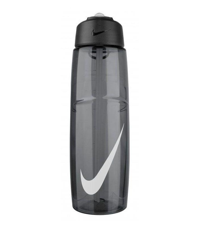 Nike Botellin 710 ml T1 Flow Swoosh Negro