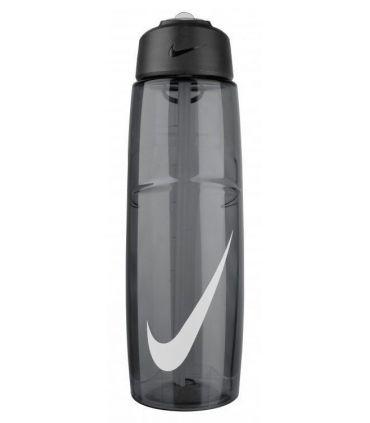 Nike Botellin 946 ml T1 Flow Swoosh Negro