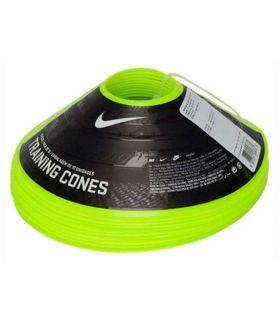 Nike pack van 10 Kegels Opleiding Geel