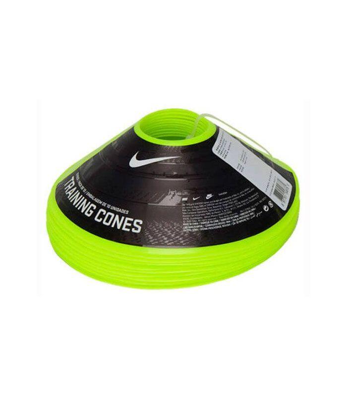Nike pack de 10 Cônes Jaune de Formation - Accessoires De