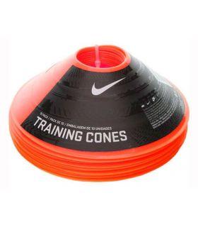 Nike pack 10 Conos Entrenamiento Naranja Nike Accesorios Fútbol Fútbol