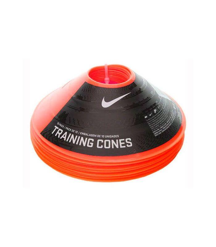 Nike pack de 10 Cônes de Formation à l'Orange