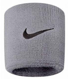 Nike Muñequeras Gris