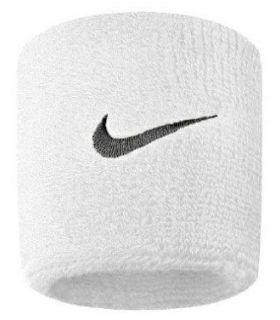Nike Muñequeras Blanco Nike Muñequeras - Cintas Running Textil Running