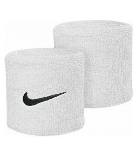 Nike Muñequeras Blanco Muñequeras - Cintas Running Textil
