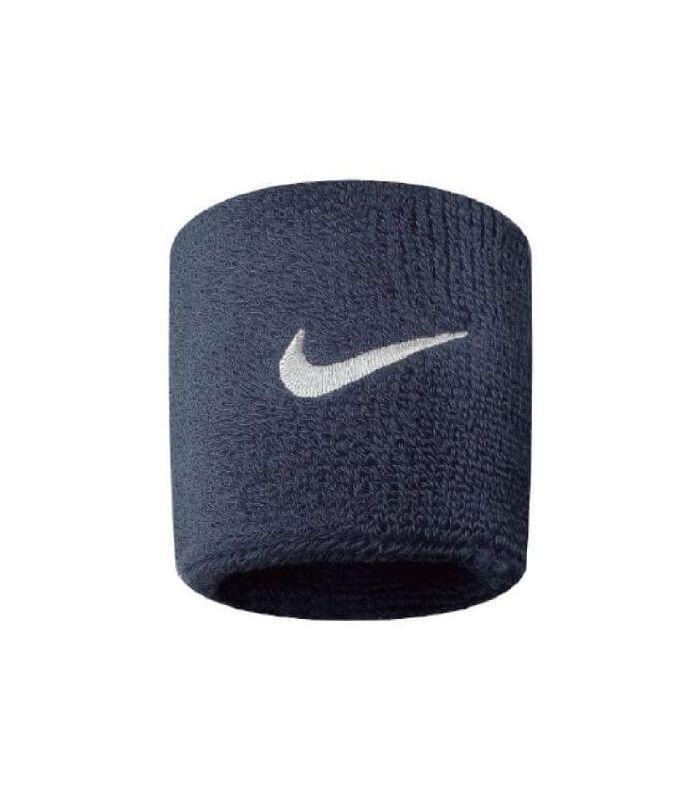 Muñequeras - Cintas Running - Nike Muñequeras Azul Marino Textil Running